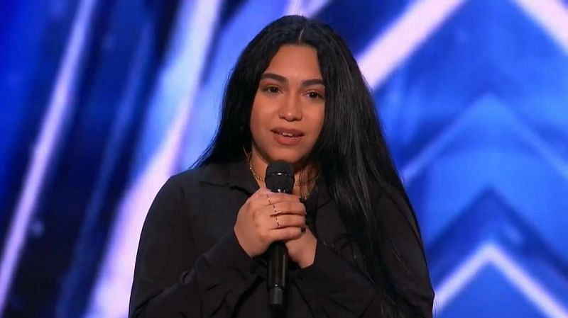 Jessica Nunez on America's Got Talent Audition (Image via Twitter/America's Got Talent)