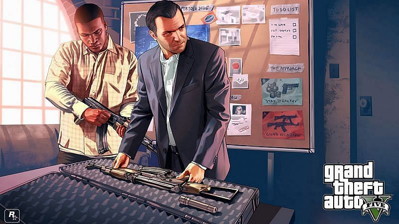 Players must not download GTA 5 APK links for mobile devices (Image via Pinterest)