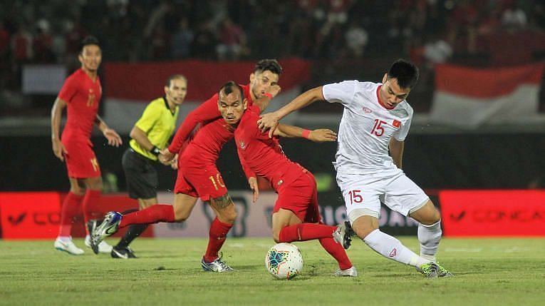 Indonesia plays host to the United Arab Emirates at the Zabeel Stadium on Friday