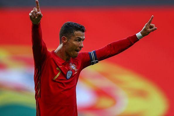 Cristiano Ronaldo scored for Portugal ahead of Euro 2020