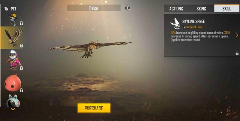 Falco in Free Fire