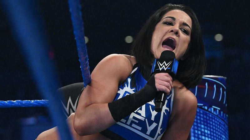 Bayley has become a natural on the mic