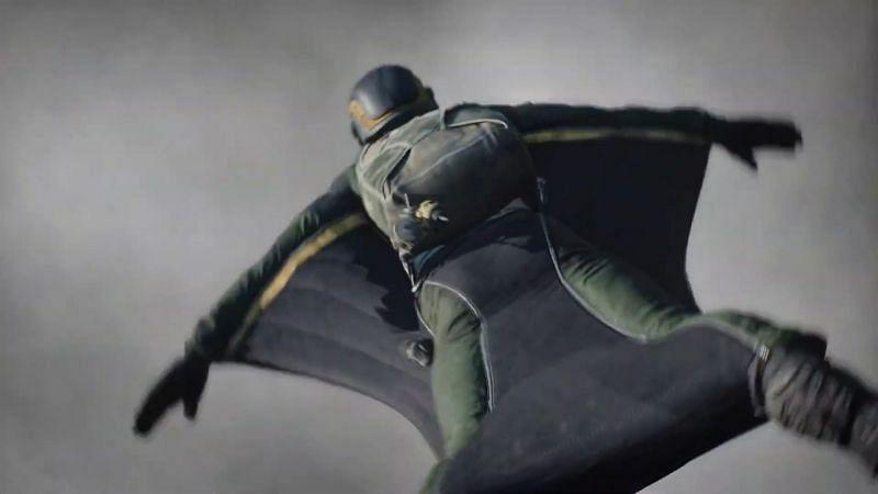 Battlefield 2042 Wingsuit (Image via Battlefield)