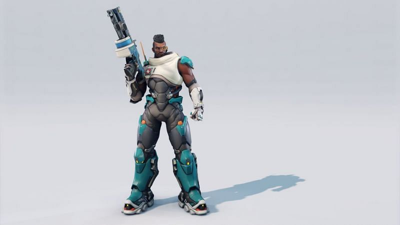 Redesigned Baptiste in Overwatch 2 (Image via Blizzard Entertainment)