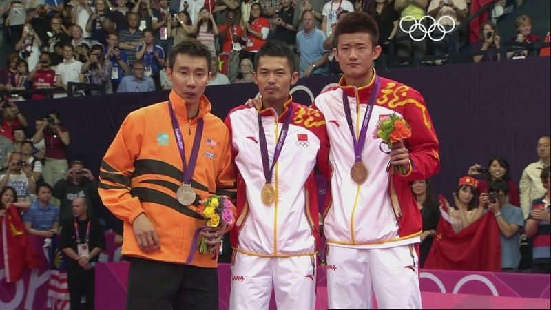 Lin Dan Winning the Olympic Gold in 2008 and 2012