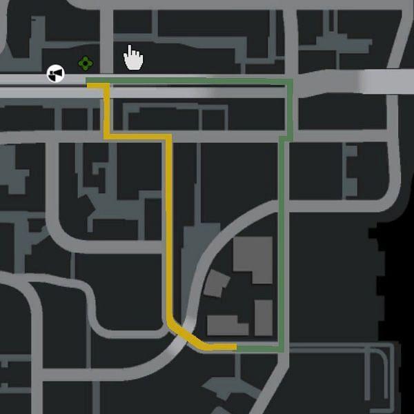 GPS, as it shows up in GTA 4 (Image via GTA Wiki)