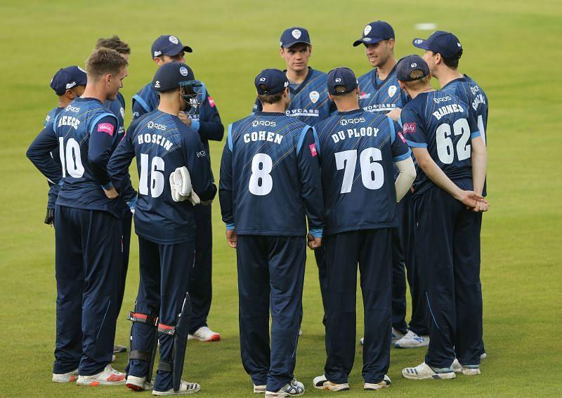 Durham v Derbyshire Falcons - T20 Vitality Blast 2020