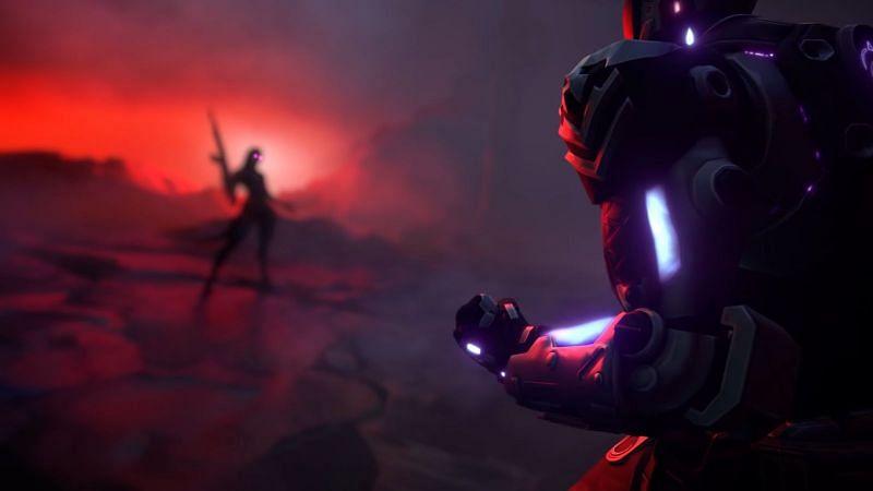 Kay/O alternatif zaman çizelgesinde Reyna ile karşı karşıya geliyor (Resim Riot Games'ten