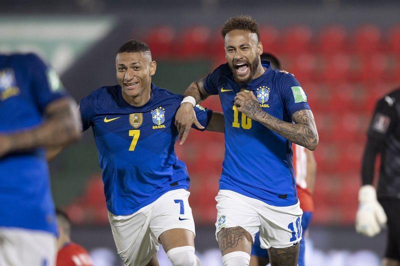 Neymar was Brazil