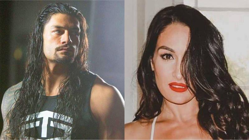 Roman Reigns and Nikki Bella