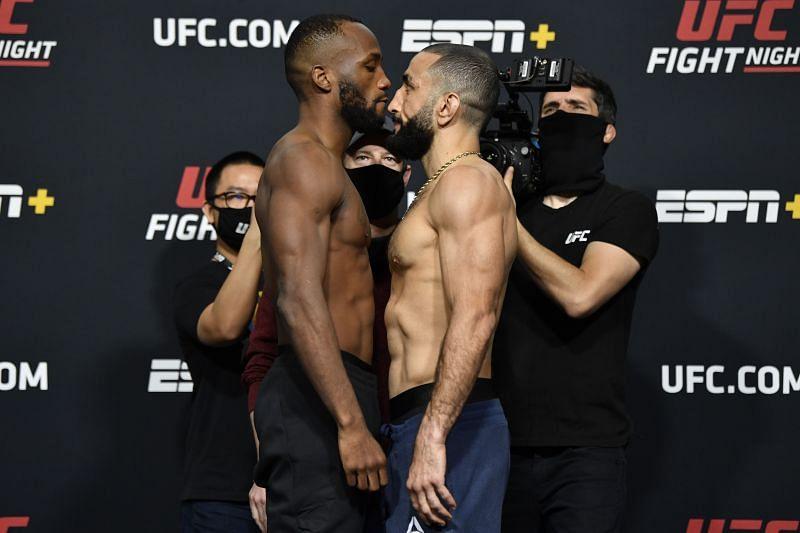 UFC Fight Night: Edwards v Muhammad Weigh-in