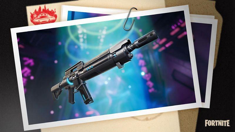 Fortnite IO Weapons Pulse Rifle