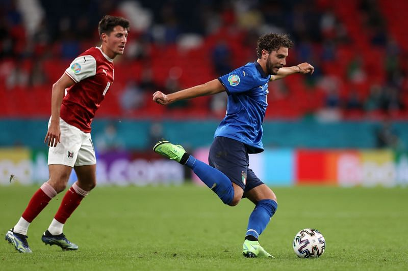 Locatelli in action for Italy