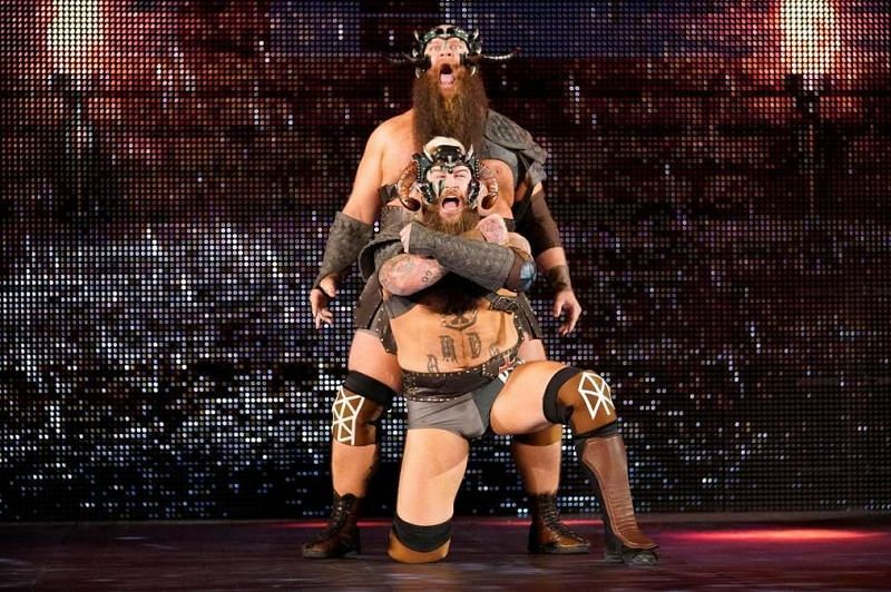 The Viking Raiders in WWE