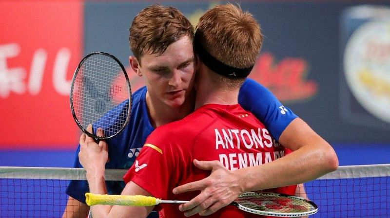 The Danish Duo of Victor Axelsen (World No. 2) and Anders Antonsen (World No. 3)