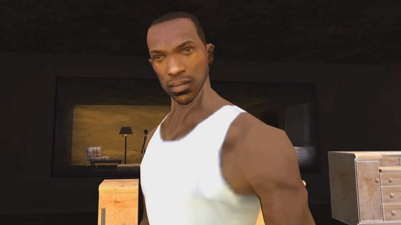 CJ, the protagonist of the game (Image via Gamewave)