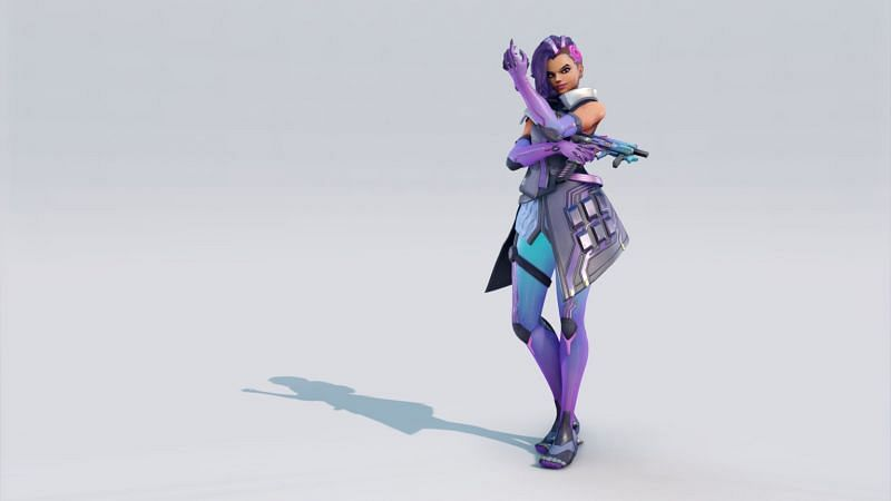 Redesigned Sombra in Overwatch 2 (Image via Blizzard Entertainment)