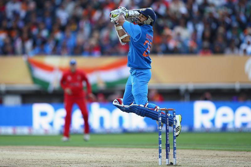 Shikhar Dhawan. Pic: Getty Images