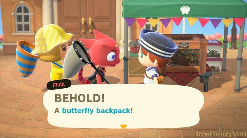 Players can exchange bugs for adorable prizes (Image via Animal Crossing world)