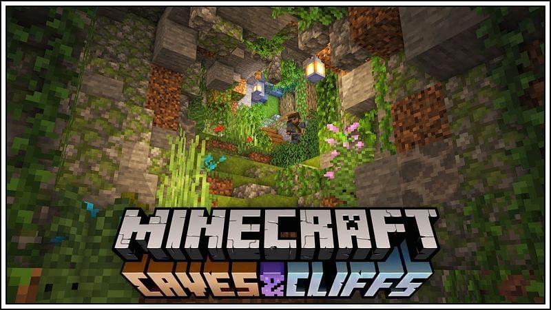 Minecraft Caves & Cliffs the most anticipated update (Image via Wallpaper cave)