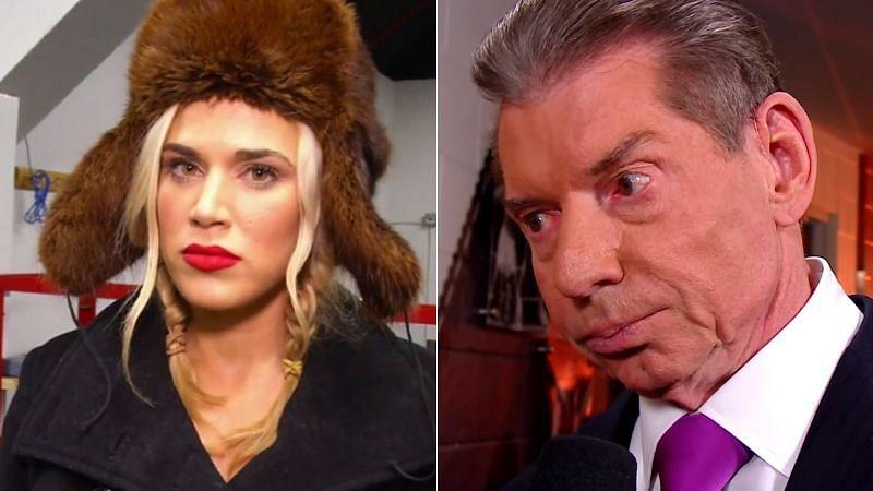 Lana and Vince McMahon