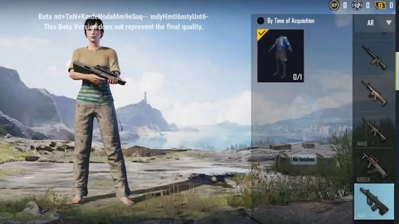 The Recon Set spotted in PUBG Mobile Beta Version 1.5