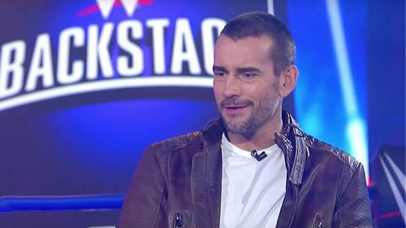 CM Punk appeared on FS1 show WWE Backstage in 2019 and 2020
