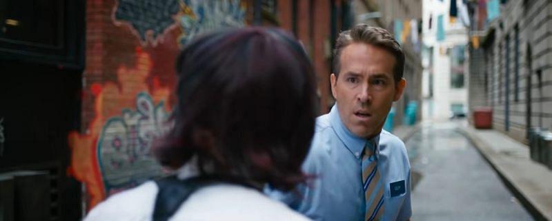 Ryan Reynolds plays the main Protagonist in Free Guy (Image via 20th Century Studios)