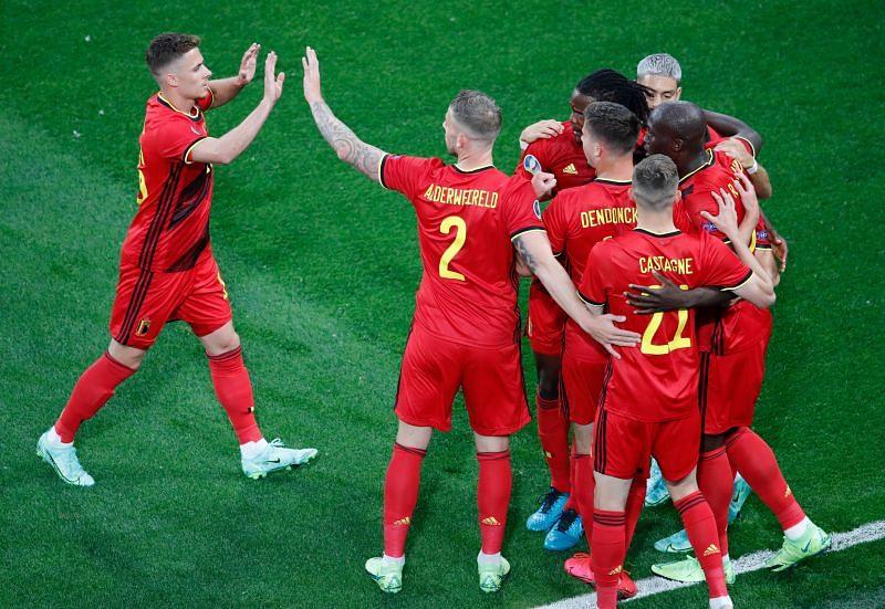 Belgium play Denmark on Thursday