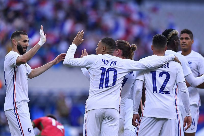France defeated Bulgaria 3-0 in their final friendly before the start of the European Championship