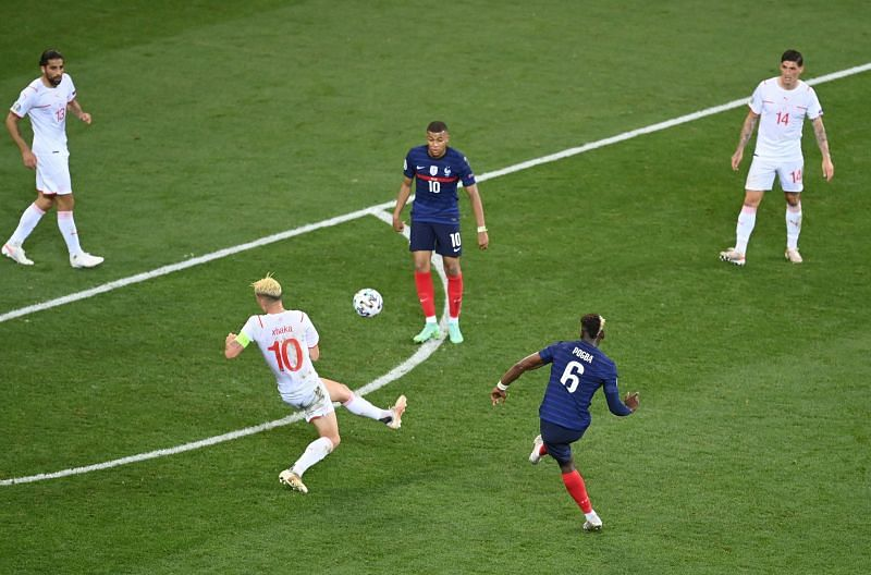 Pogba put France 3-1 up with a spectacular goal