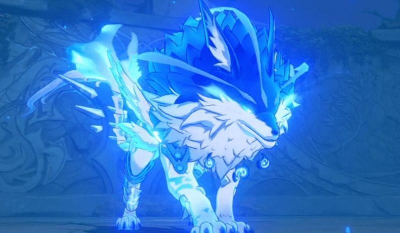 Lupus Boreas in Genshin Impact (image via game8)