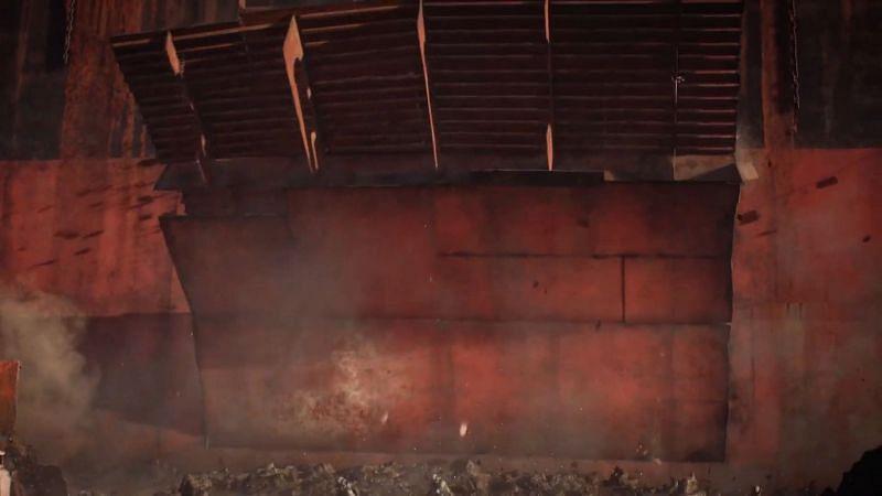 Wall breaking down in Battlefield 2042 (Image via Battlefield)