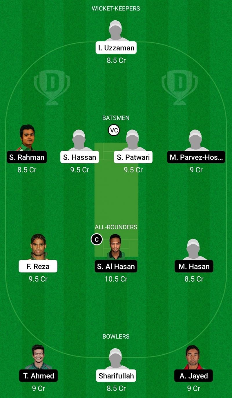 Dhaka Premier League T20 Dream11 Fantasy Suggestions (PDSC vs MSC)