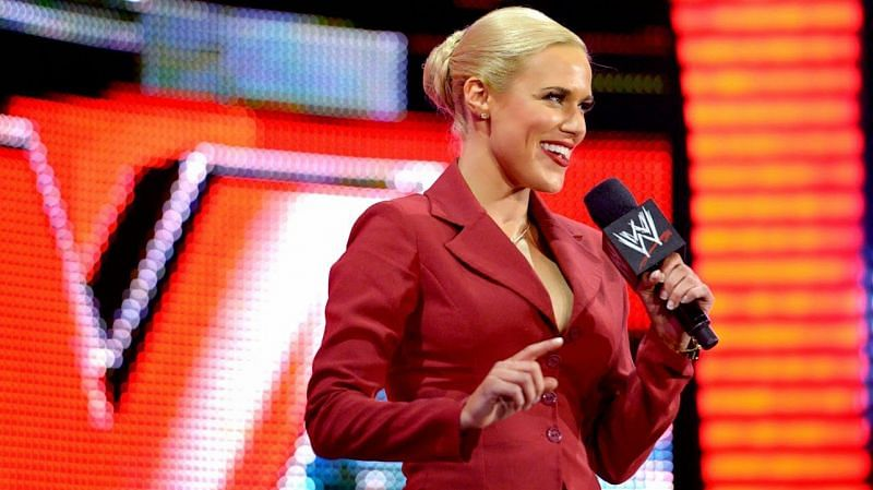 Lana recently received her WWE release