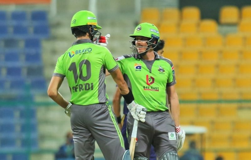 Lahore Qalandars have lost their last two PSL 2021 matches. Pic: Lahore Qalandars/ Twitter