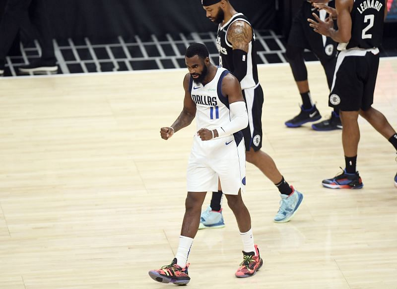Tim Hardaway Jr. was the second best player for the Dallas Mavericks behind Luka Doncic in the 2021 NBA playoffs