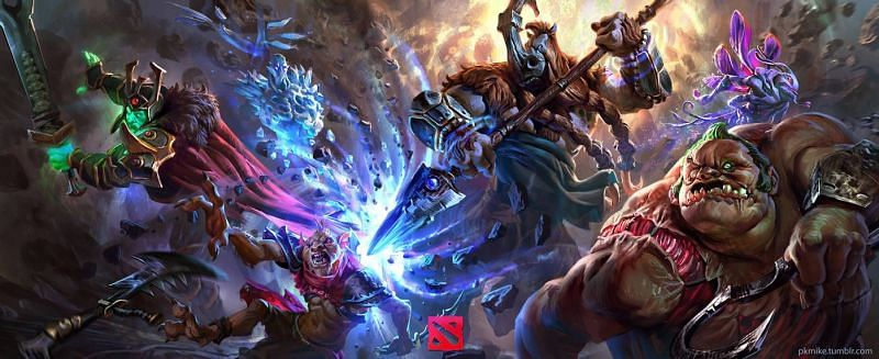 Dota 2 heroes are not locked behind a paywall (Image via MikeAzevedo)