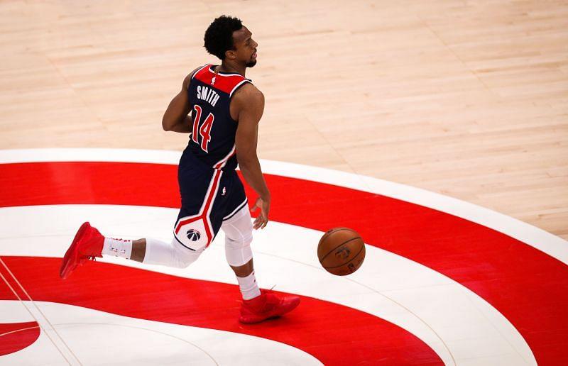Ish Smith #14 of the Washington Wizards.