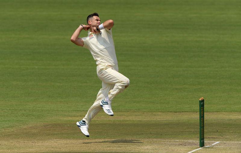 जेम्स एंडरसन अपने टेस्ट करियर का 162वां मैच खेल रहे हैं