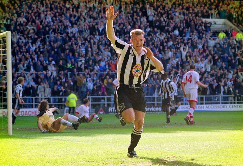 Alan Shearer spent his entire football career in England