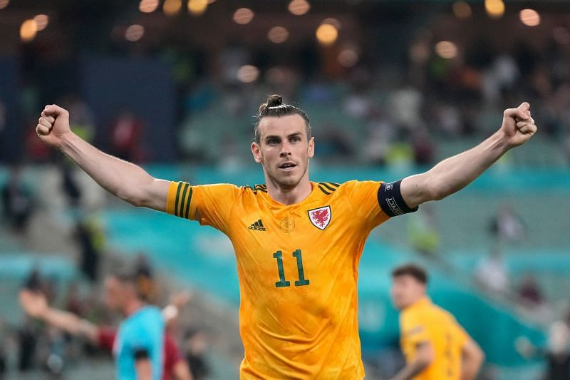 Welsh captain Gareth Bale. (Photo by Darko Vojinovic - Pool/Getty Images)