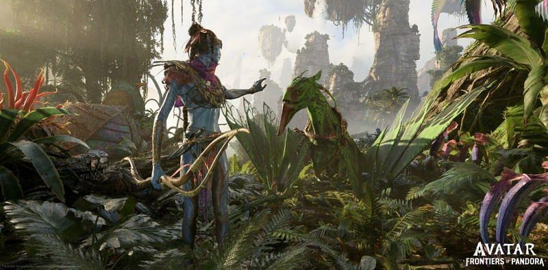 Avatar: Frontiers of Pandora is finally a reality (Image via Ubisoft)
