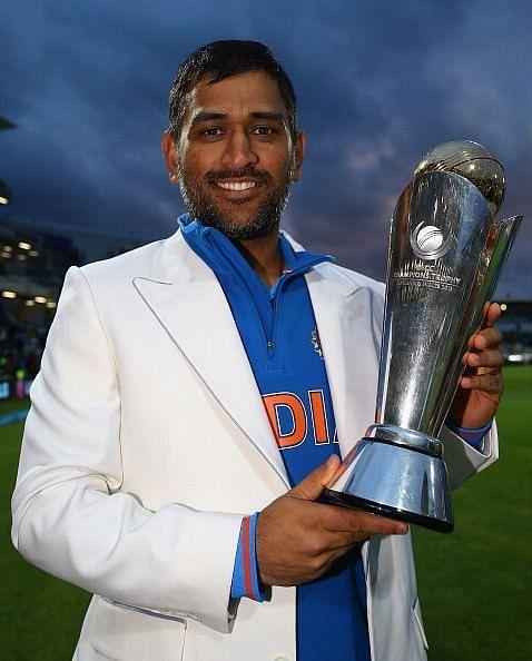 MS Dhoni Champions Trophy 2013