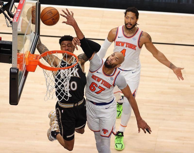 Taj Gibson played a big role in the New York Knicks