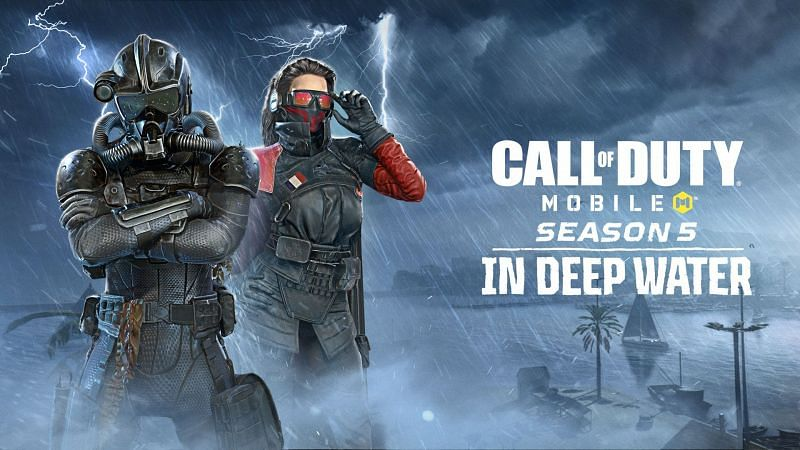 COD Mobile Season 5: In Deep Water Battle Pass is as exciting as its name (Image via Activision)