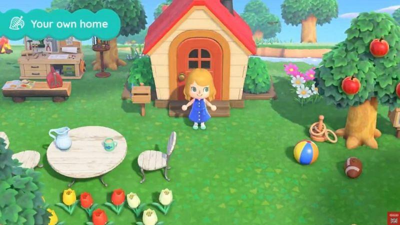 Houses in Animal Crossing: New Horizons (Image via USGamer)