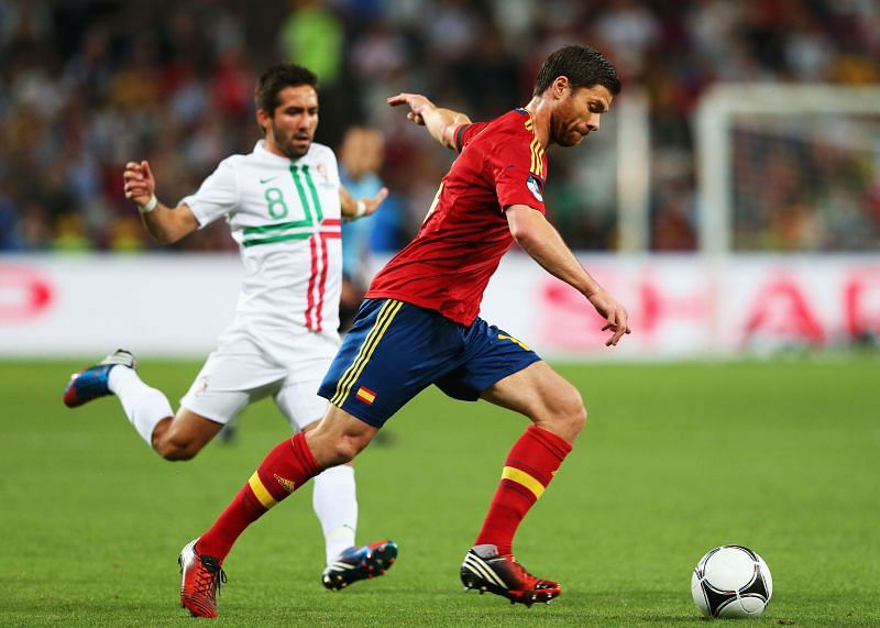 Xabi Alonso has been crucial to Spain