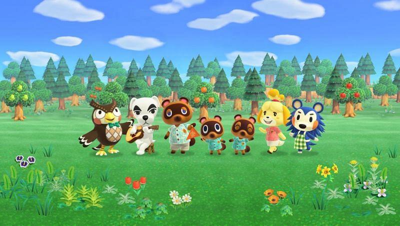 Aldeanos en Animal Crossing: New Horizons (Imagen a través de VG247)