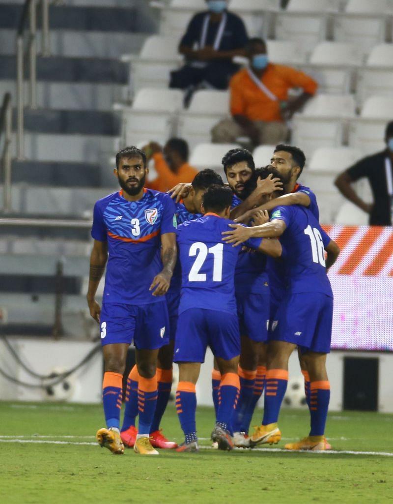 भारतीय टीम आज एक गोल का जश्न मनाने के लिए भाग्यशाली रही।